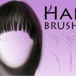 [Photoshop]髪の毛用のブラシ