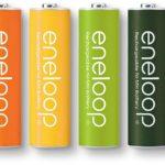 カラフルな水素電池 SANYO eneloop tones glitter