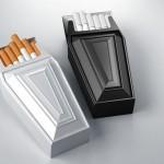 体に害があるのが実感できるタバコのパッケージ