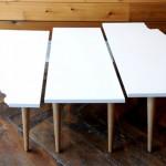 カナダ プレーリーをモチーフとしたテーブル