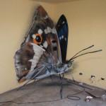 やっぱり昆虫の3Dアートはイカンでしょ。